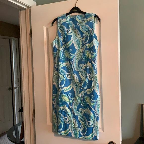 J.McLaughlin sleeveless floral short dress